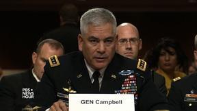 Image of Top U.S. commander recommends revising Afghan drawdown plan