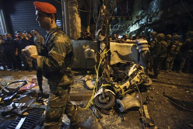 Islamic State claims Beirut suicide bombings