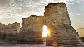 Image of Towers of Chalk in Kansas