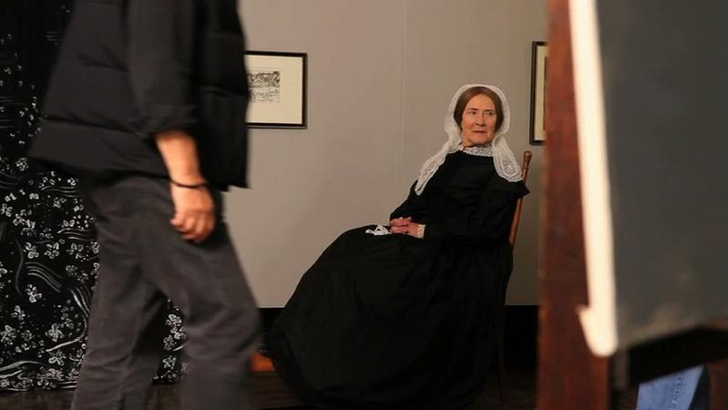 Behind the Scenes: Whistler's Mother