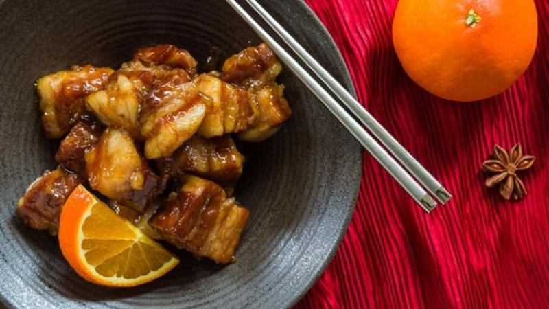 Treat Yourself to Orange-Spice Braised Pork Belly