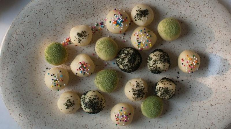 Make White Chocolate Truffles with Toppings
