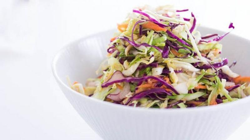 Go No-Mayo on Your Coleslaw Recipe