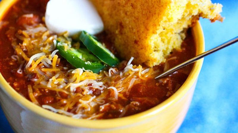 Heat Up Chili for the Big Game