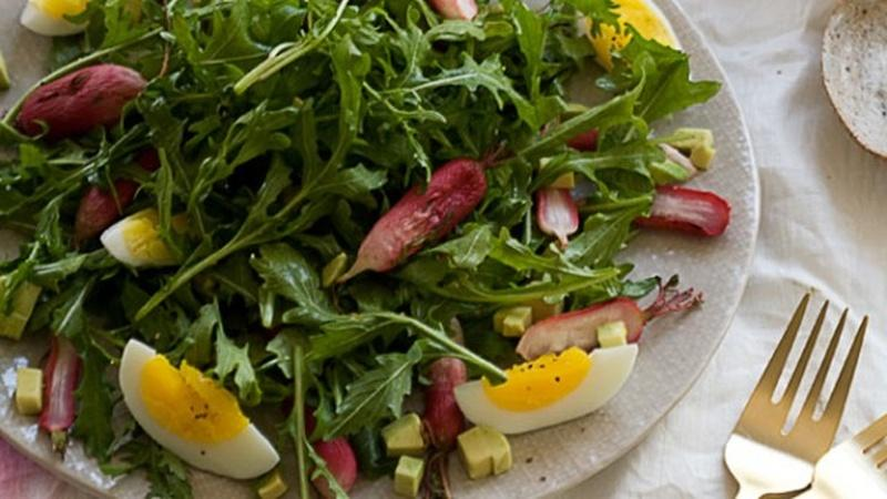 Springtime Calls for Roasted Radish Salad