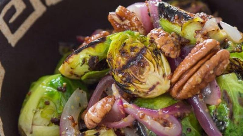 Grill Brussels Sprouts to Add Smoky Flavor