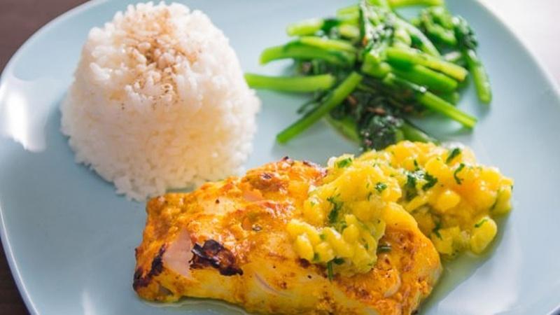 Discover Sablefish Tandoori with Mango Relish