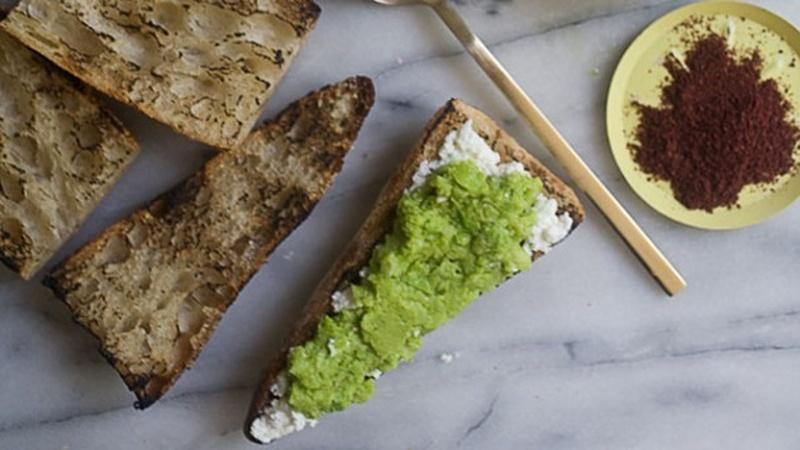 Serve Fava Bean Ricotta Toasts