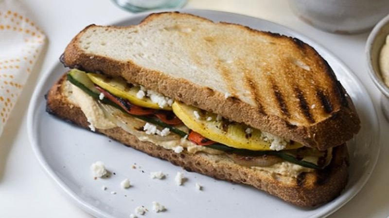 Embrace Grilling Season with a Veggie Sandwich