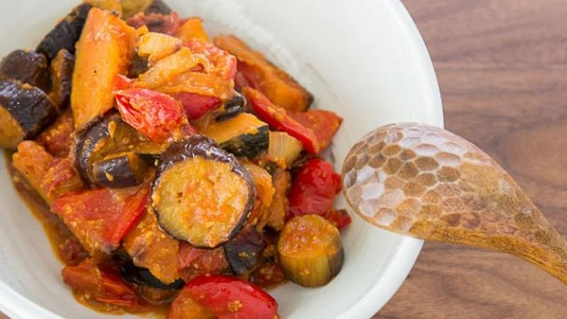 Japanese Ratatouille: A Summery Stew