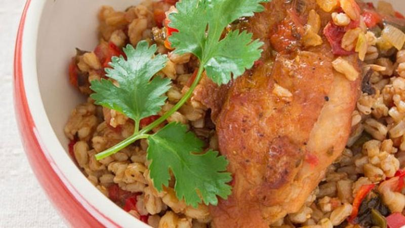 Make Farro Con Pollo for Dinner