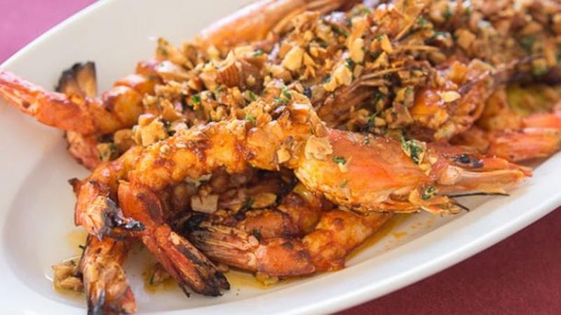 Impress Guests with Grilled Almond Shrimp