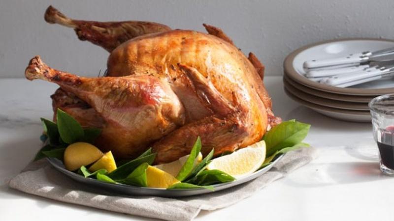Make Citrus Dry-Brined Turkey for Thanksgiving