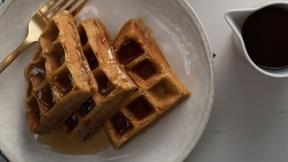 Image of Make Pumpkin Waffles for a Fall Breakfast