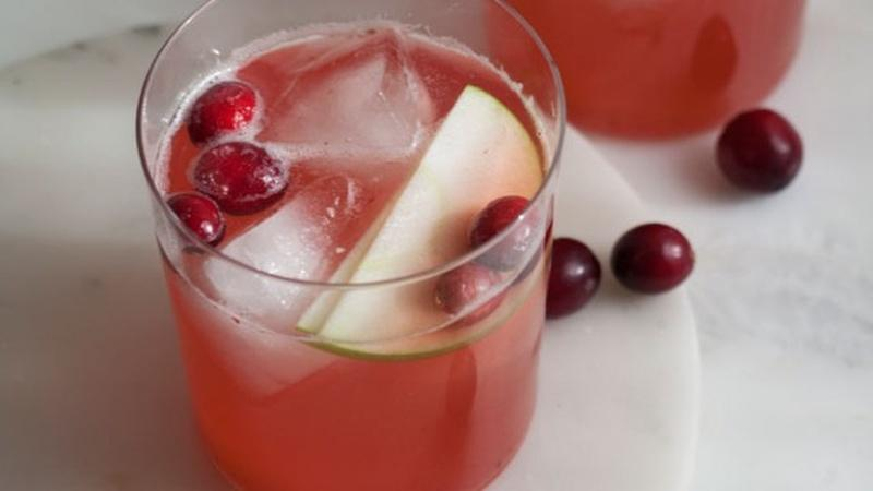 Toast the Holidays with Spiced Cranberry Sangria