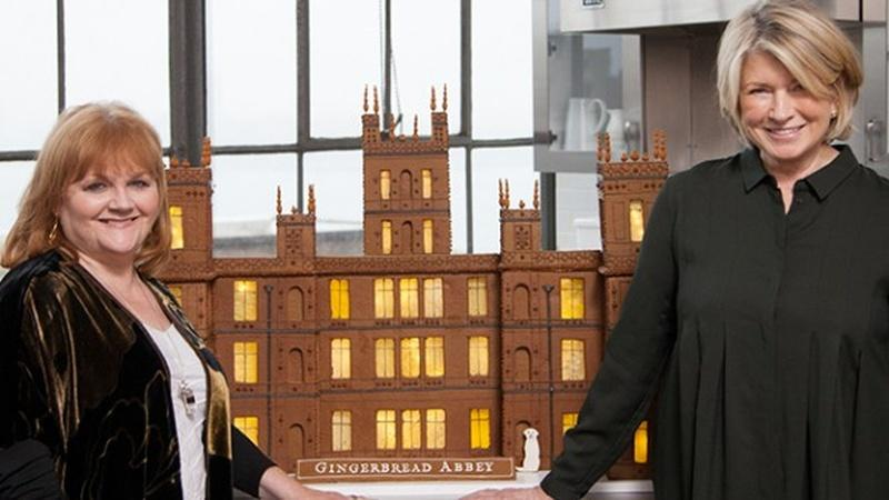 Watch Martha Stewart Create Gingerbread Abbey