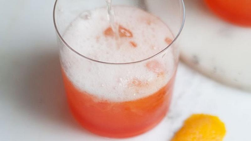 Fill Pitchers with Winter Citrus Spritzer