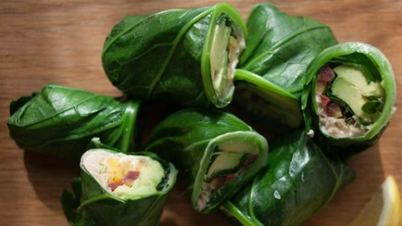 Make Collard Green Wraps for a Healthy Lunch