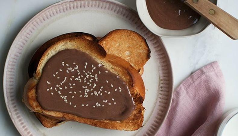 How to Make Halva Chocolate Spread