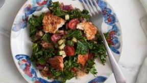 Image of Make Fattoush Salad with Za'atar Pita Chips