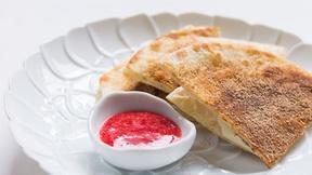 Image of Prepare a Cheesecakedilla for a Quick Dessert