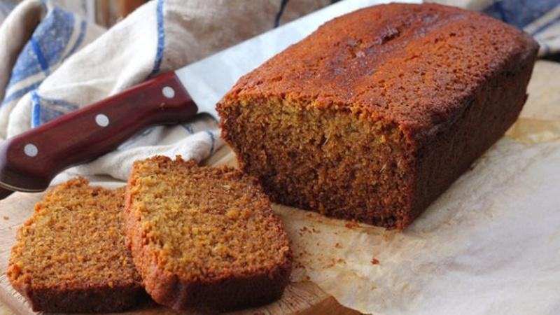 Bake Honey Fennel Gingerbread Loaf