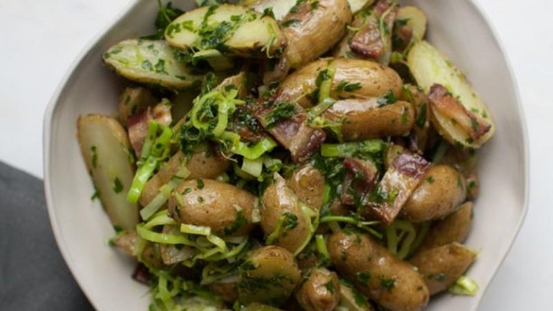 Make No-Mayo Potato Salad with Bacon