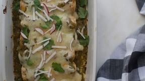 Image of Kick Up the Heat with Salsa Verde Enchiladas