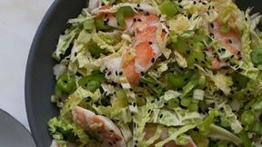 Image of Make Savoy Cabbage Shrimp Salad