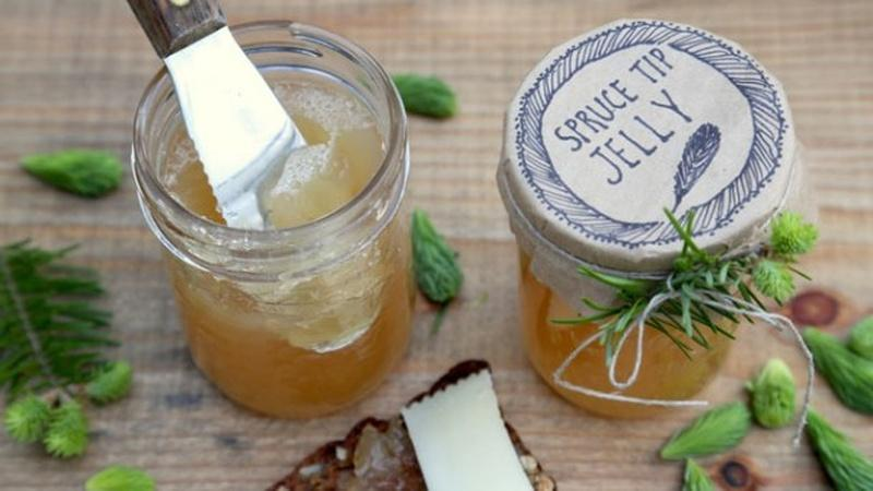 How to Make Spruce Tip Jelly