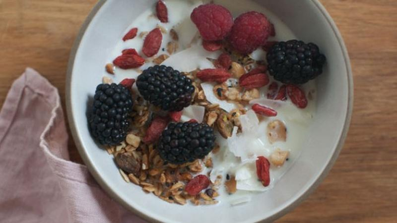 Snack on Seeded Granola