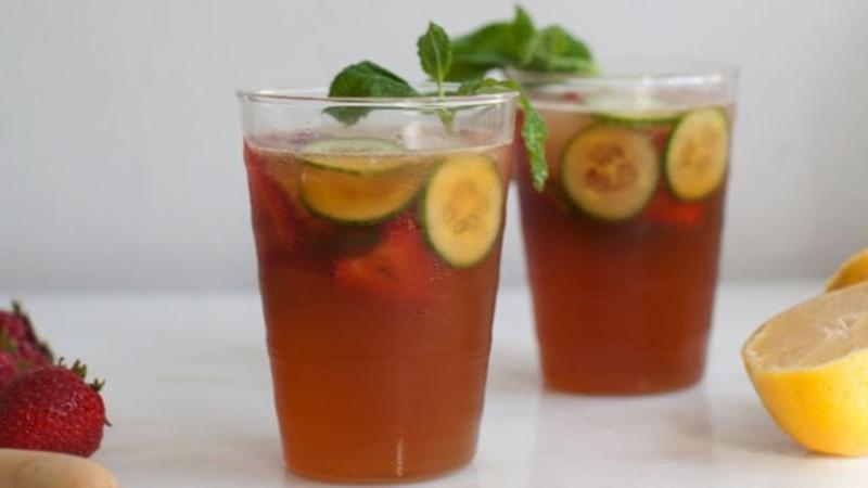 Relax with a Pimm's Cup