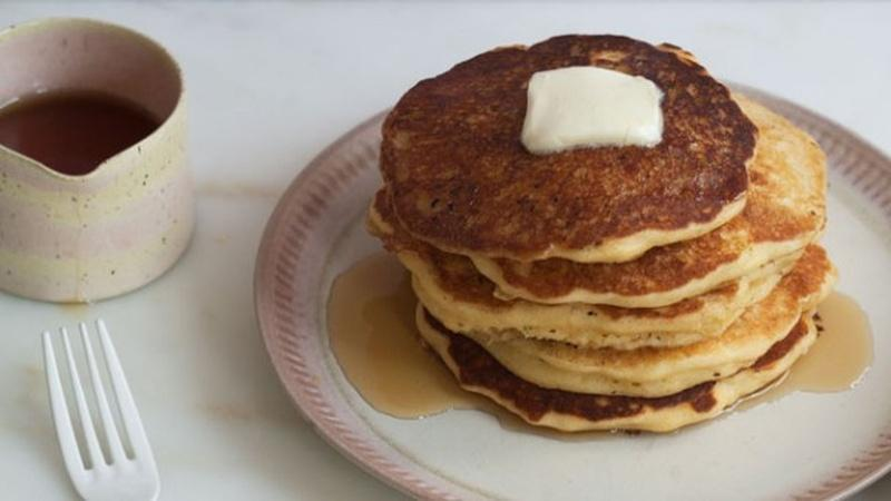 Make Sweet Corn Pancakes for Breakfast