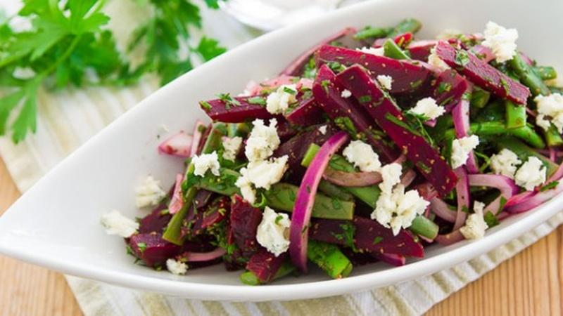 Roast Beet and Green Bean Salad