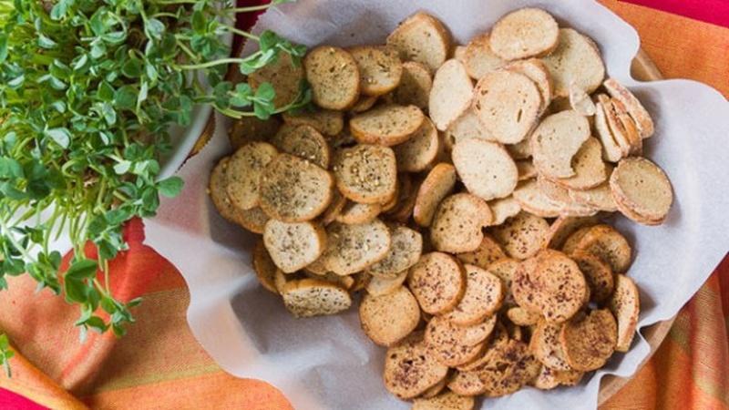 Bake a Batch of Bagel Chips