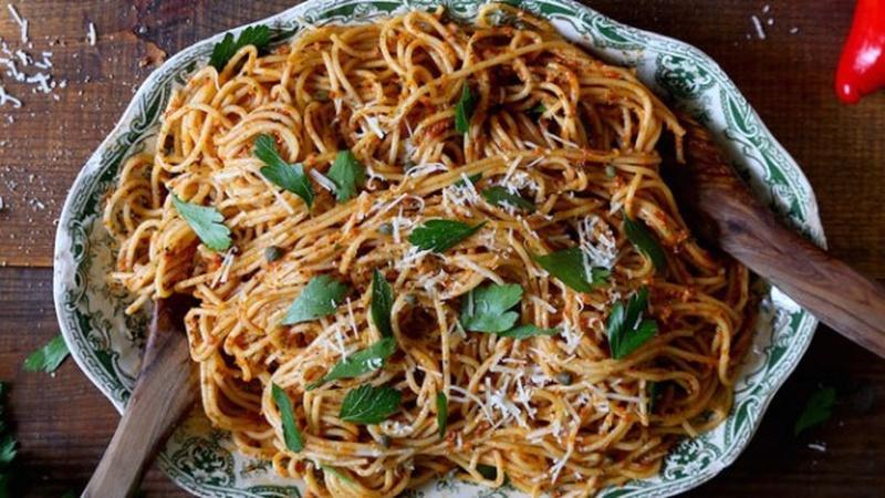 Make Roasted Red Pepper Pesto