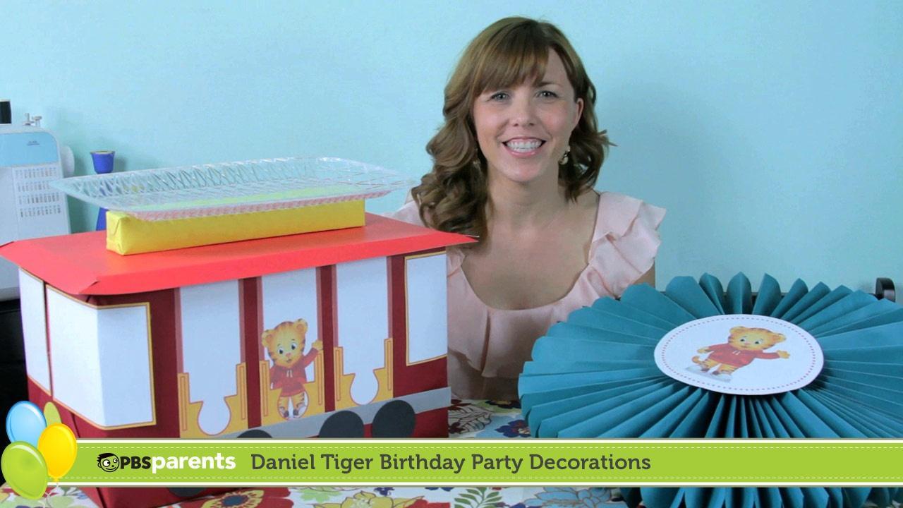 birthday parties pbs parents