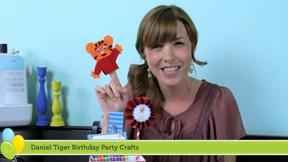Image of Daniel Tiger Birthday Party Crafts