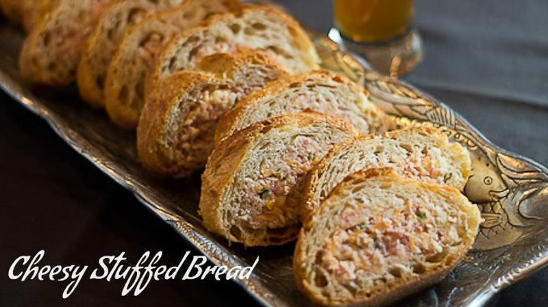 Cheesy Stuffed Bread