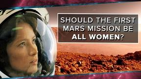 Image of Should the First Mars Mission Be All Women?