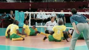 Image of My Way to Olympia: Hanging Tough: Rwandan Volleyball Team