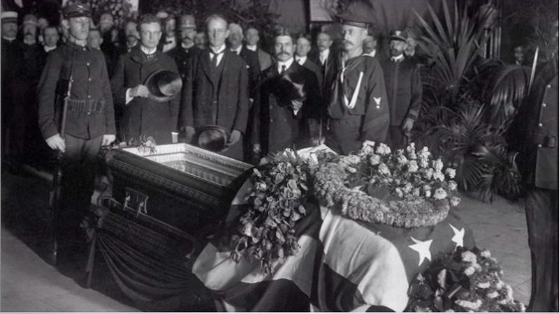 President McKinley Assassinated