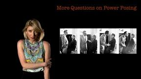 Image of Amy Cuddy: More Questions on Power Posing