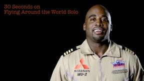 Image of Barrington Irving: 30S on Flying Around the World Solo
