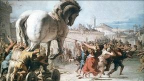 Image of Horses and Troy