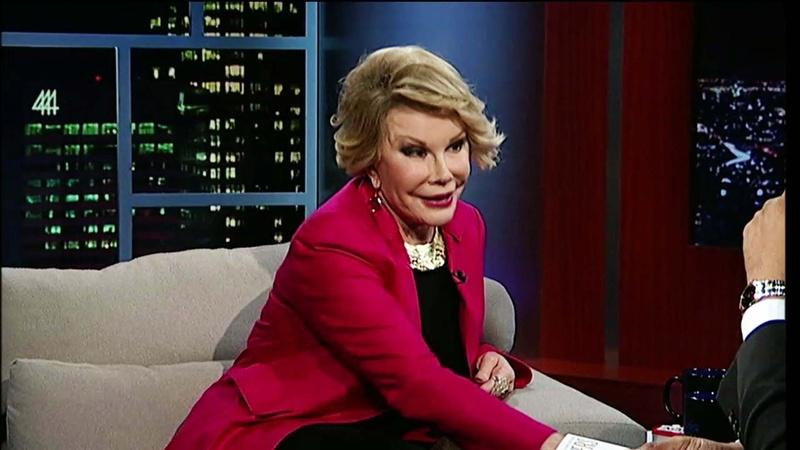 Comedienne Joan Rivers – Part 2