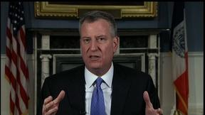 Image of NY Mayor Bill de Blasio