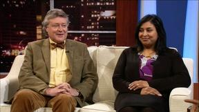 Image of Graham Beal & Swarupa Anila of the Detroit Institute of Arts