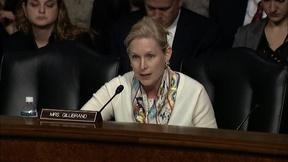 Image of Sen. Gillibrand Questions Sec. of Defense Nominee Carter