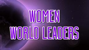 Image of Women World Leaders: Interviews with Women in Power